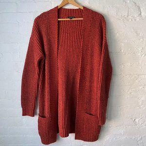 Express Chunky Boyfriend Cardigan Sweater Size S